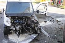 Na trase mezi Brankami a Kunovicemi došlo ke srážce osobního auta a vlaku.