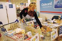 Národní potravinová sbírka ve Valašském Meziříčí; sobota 10. listopadu 2018