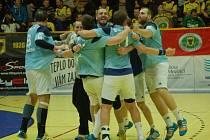 Házenkáři Zubří v semifinále poháru prohráli s Hranicemi 29:30. Poprvé v sezoně padli doma.