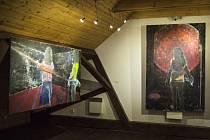 Výstava Ateliéru Malba I. Fakulty umění Ostravské univerzity v meziříčské Galerii Sýpka.