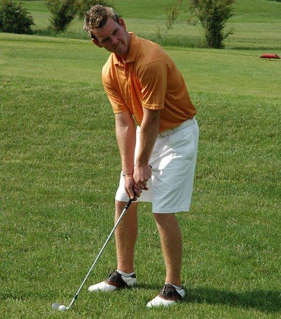 Golfista Rožnova Stanislav Matuš.