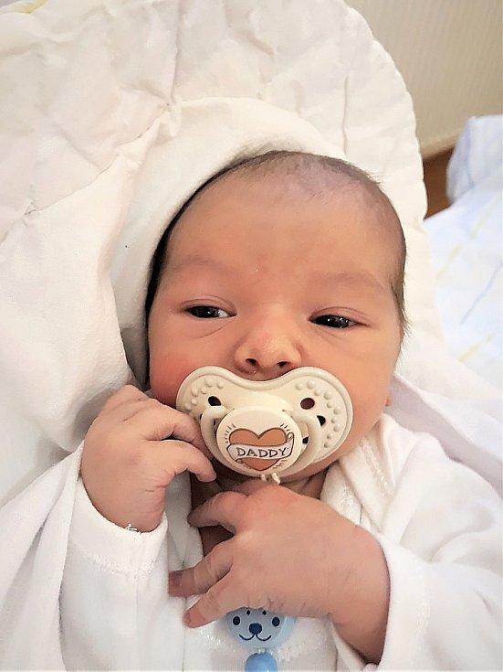 Sebastiano Buonanno, Valašské Meziříčí, narozen 6. dubna 2021 ve Valašském Meziříčí, míra 49 cm, váha 3040 g