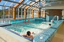Termální bazény ve Wellnes v hotelu Horal.