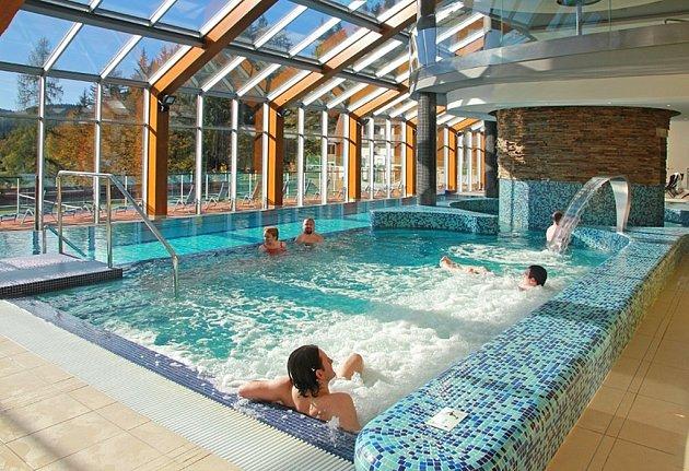 Termální bazény ve Wellnes vhotelu Horal.