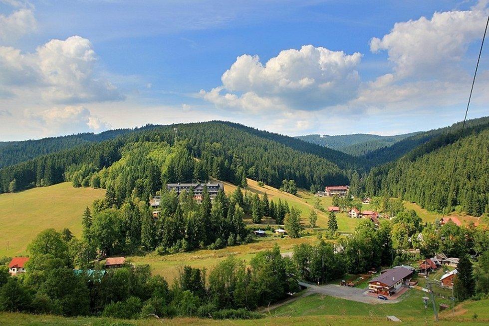 Údolí Leskovce.