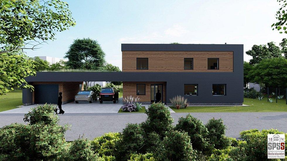 Rodinný dům Josefa Kolaříka – první místo v jedné z kategorií soutěže vyhlašované předním výrobcem cihel.