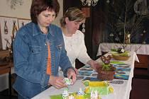 V zasedací místnosti radnice v Loučce v sobotu začíná tradiční velikonoční výstava.