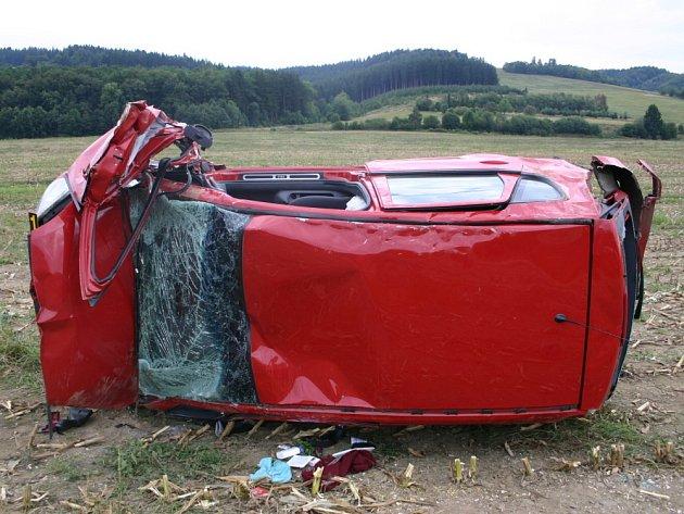 Nehoda na Hovězí
