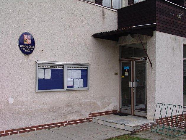 Na Obecním úřadě v Prostřední Bečvě dochází ke krádežím