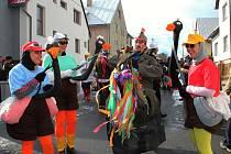 Dědinami na Hornolidečsku pochodovaly fašanky.