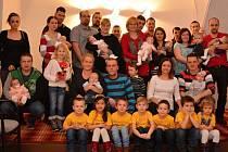 Mezi obyvatele Valašského Meziříčí přivítali ve středu (20. 1.) deset dětí, čtyři chlapečky a šest děvčátek.
