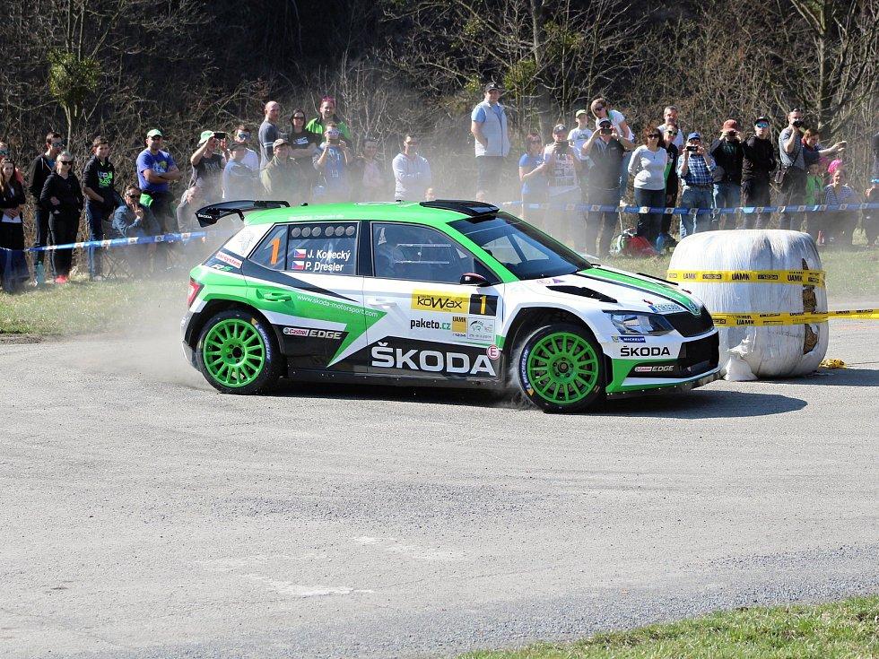 38. ročník Kowax Valašské rally ValMez 2019 se jel na o víkendu 29. - 31. března 2019. Jednou s RZ byla také vložka na Bystřičce. V odpolední RZ vedl s náskokem favorit Jan Kopecký.
