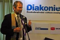 Ředitel vsetínského střediska Diakonie Českobratrské církve evangelické Dan Žárský.