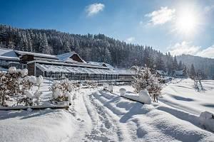 U hotelu Horal naměřili až 90 cm sněhu