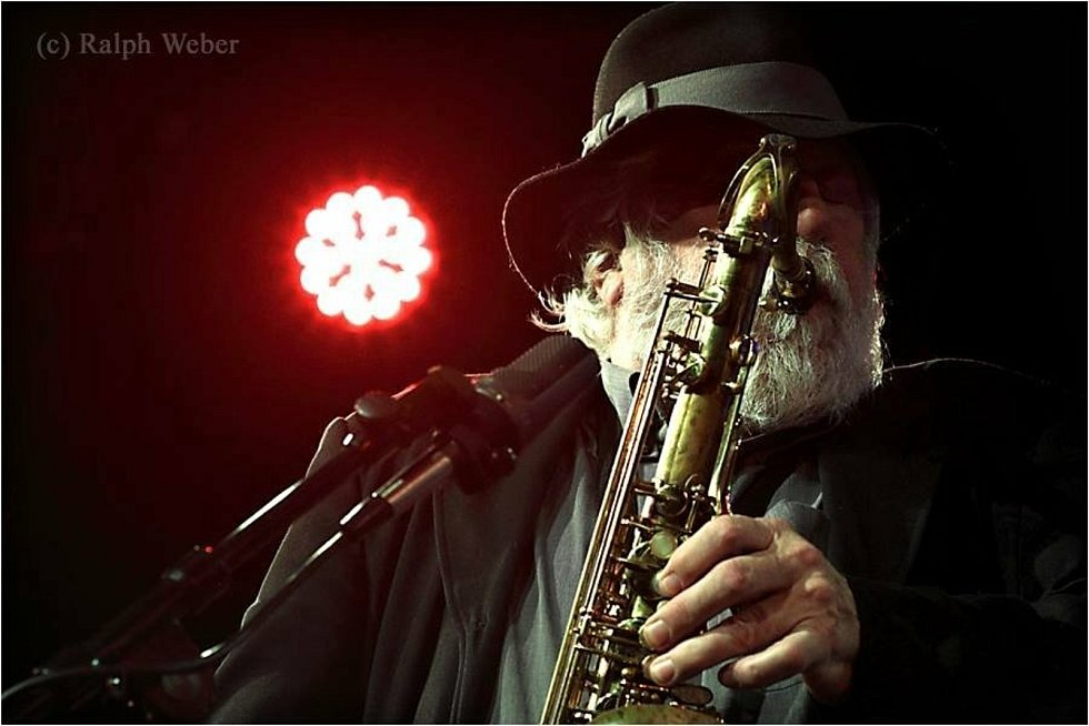 Saxofonista Joe Kučera - nejprotěžovanější hudebník na Valašském špalíčku 2021.
