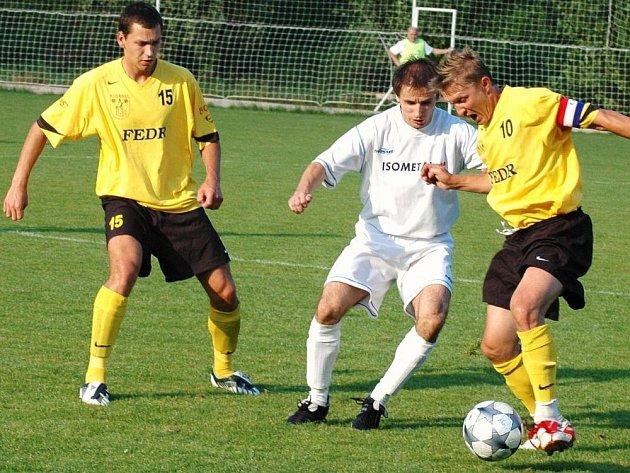 Ve valašském derby Kateřinice – Vsetín se hrál krásný fotbal, který přinesl remízu 3:3.