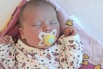 Viktorie Barošová, Karolinka, narozena 16. května ve Valašském Meziříčí, míra 50 cm, váha 3660 g