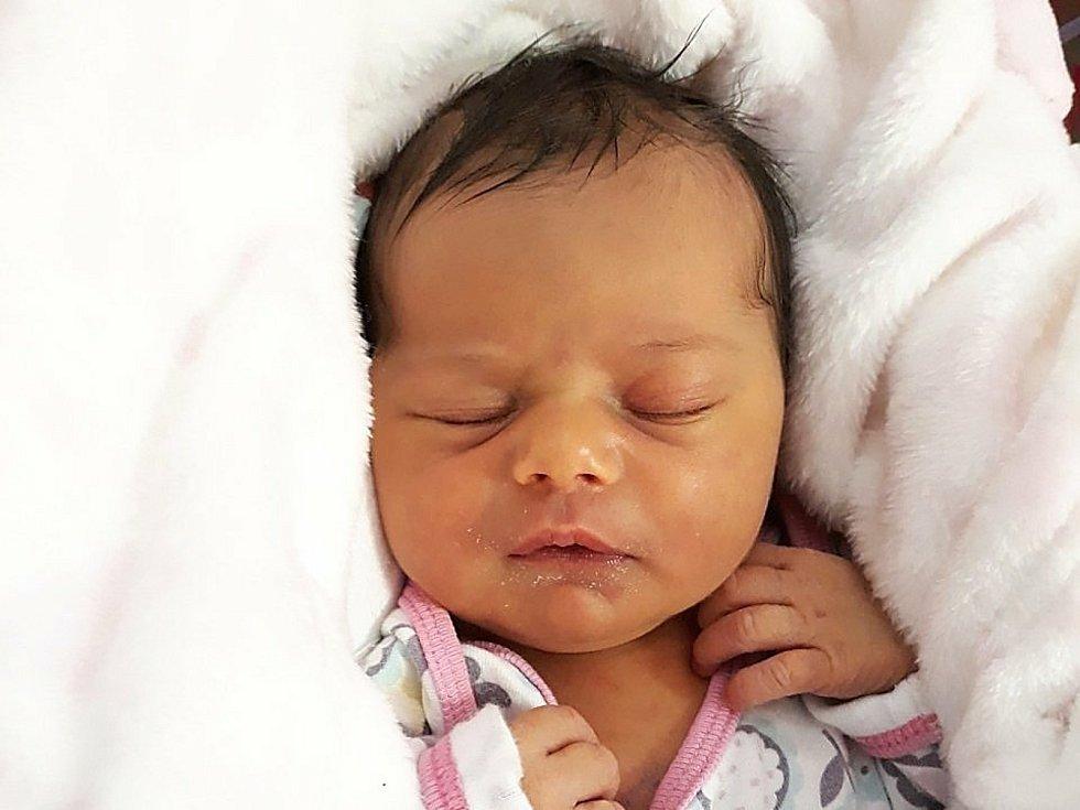 Tereza Kaňovská, Jasenice, narozena 8. února 2021 ve Valašském Meziříčí, míra 48 cm, váha 3070 g