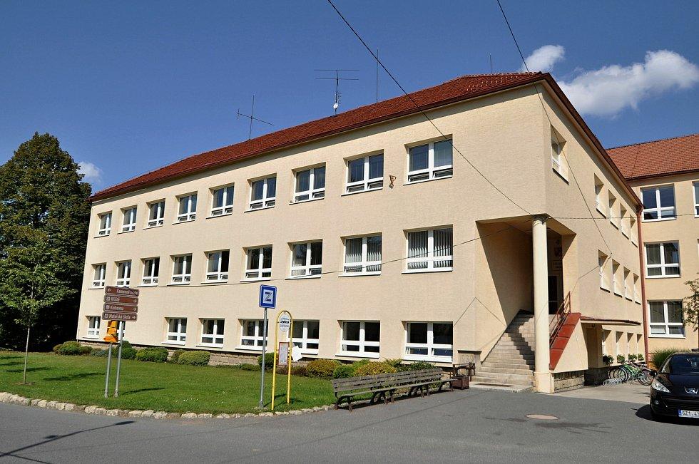 Vidče - základní škola.
