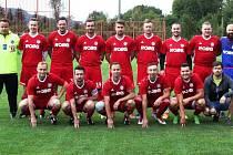 Fotbalisté Prostřední Bečvy. Ilustrační foto