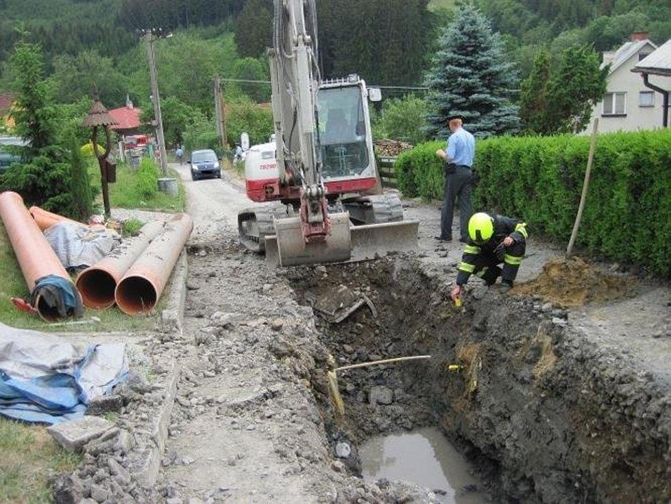 Nebezpečí při úniku plynu ve vsetínské příměstské části Semetín zmírnily dobré rozptylové podmínky.