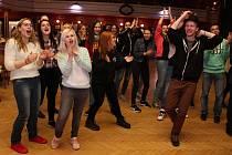 Studentský happening se uskutečnil ve čtvrtek 27. dubna ve Vsetíně.