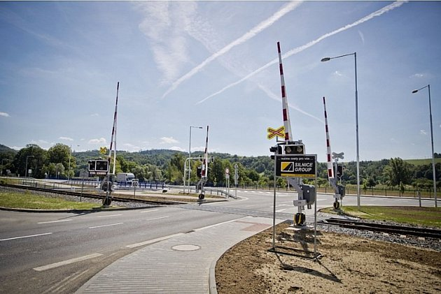 Ředitelství silnic a dálnic ČR dokončilo rekonstrukci frekventované křižovatky u Zubří na Rožnovsku; Zubří, čtvrtek 3. srpna 2017