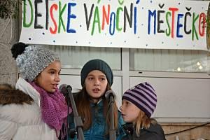 Dětské vánoční městečko u radnice ve Vsetíně; úterý 22. prosince 2015