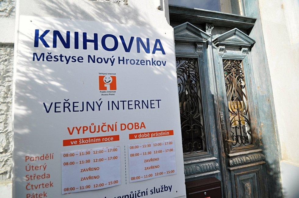 Nový Hrozenkov - knihovna.