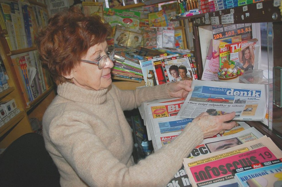Marie Šišková pracuje i deset let po odchodu do důchodu