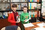 Děti ze vsetínské základní školy v Luhu podpořily chov tučňáka v zoo i v roce 2019.