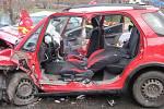 Při nehodě v Dolní Bečvě se vážně zranili tři lidé
