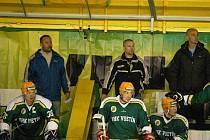 Druholigoví hokejisté valašského hokejového klubu Vsetín.