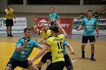 Extraligoví házenkáři Zubří v sobotním úvodním zápase čtvrtfinále Evropského poháru doma podlehli slovinskému týmu Gorenje Velenje 26:31. Odveta se hraje za týden ve Slovinsku.
