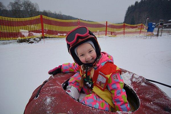 Resort Valachy - snowtubing.