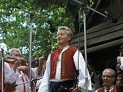 """""""Stará"""" muzika folklorního souboru Radhošť z Rožnova pod Radhoštěm."""