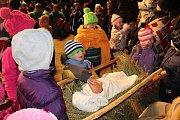 Živý betlém představili 16. a 17. prosince 2017 ve Valašském muzeu v přírodě tanečníci, zpěváci a muzikanti z rožnovských souborů Javořina, Radhošť a SOLÁŇ, Žesťový kvintet Josefa Blinky a členové Jezdeckého klubu Valašsko. Tradici tady drží už čtyřiadvac