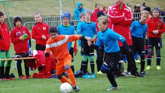 Valmez cup 2015 ve Valašském Meziříčí, turnaj ročníků 2005 a mladších.