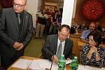 Ustavující zastupitelstvo; Valašské Meziříčí, čtvrtek 13. listopadu 2014