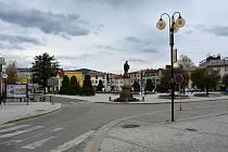 Rožnov pod Radhoštěm je podle místních branou Beskyd a srdcem Valašska. Květen 2021.