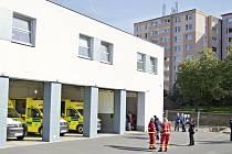 Zahájení dostavby garáží výjezdní stanice Zdravotnické záchranné služby Zlínského kraje ve Valašském Meziříčí.