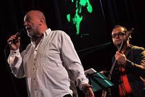 22. ročník Vsetínského jazzového festivalu - vystoupení kapely Peter Lipa Band (SK)