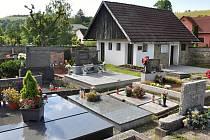 Bývalá márnice na evagnelickém hřbitově v Liptále