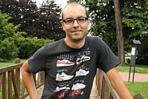 Organizátor amatérské cyklistické soutěže Vrchařská koruna Valašska Adam Hloch ze Vsetína.