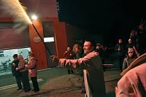V Poličné u Valašského Meziříčí oslavili úderem půlnoci 31. prosince 2012 své osamostatnění na městě Valašské Meziříčí.