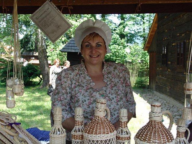 Košíkářka Hana Špalková