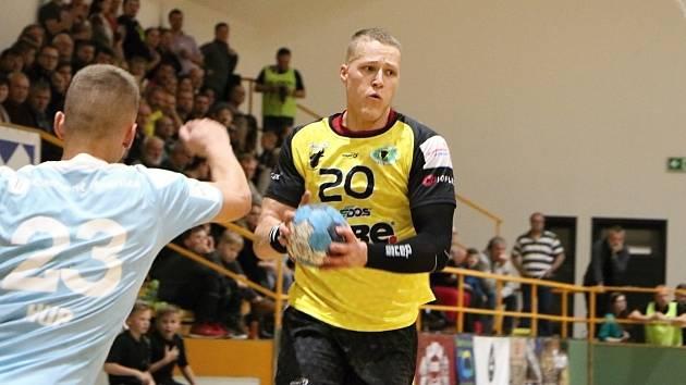 Slovenská spojka Zubří Marek Korbel nastřílela v první části extraligové sezony 64 branek.