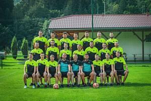 Fotbalisté Ústí na Vsetínsku hrají okresní přebor. Po podzimu jsou šestí.