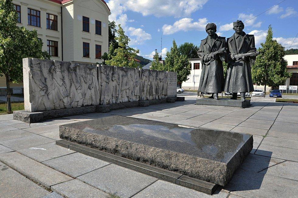 Vsetín - památník osvobození