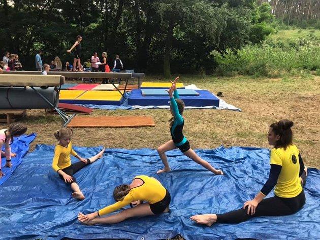 Letní tábor oddílu Sportovní gymnastiky